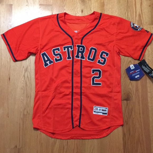 on sale f947a 71b67 Houston Astros #2 Bregman jersey NWT